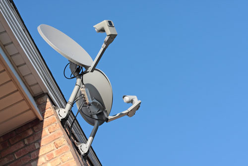 DISH Network Satellite On Residence - How does Dish Network work