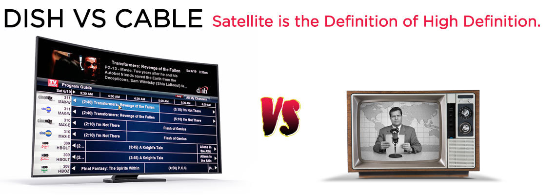 Find out why millions are choosing DISH Network satellite TV over cable TV.