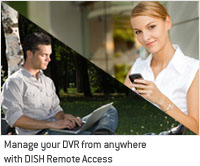 DISH Remote Access on iPad and Phone