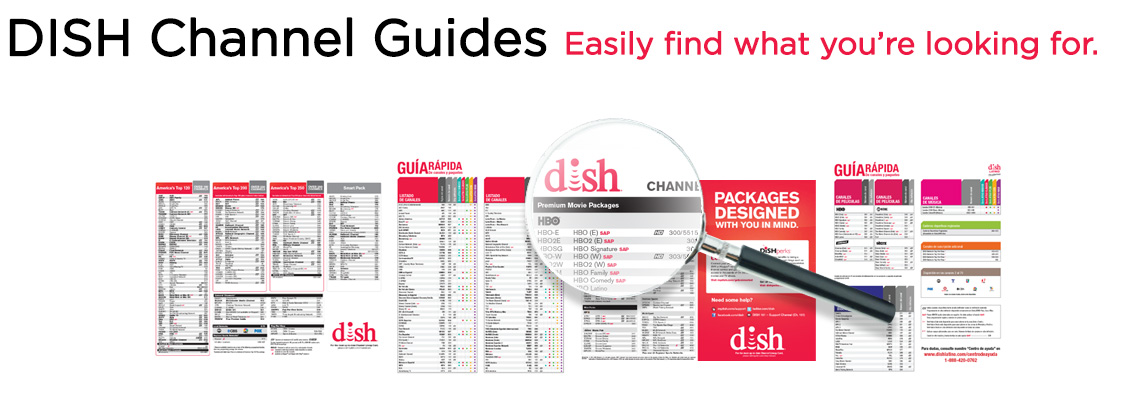 photograph relating to Printable Dish Channel Guide named Channel Books - DISH Programs